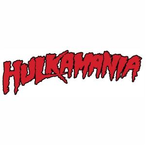 Hulkamania logo Vector file
