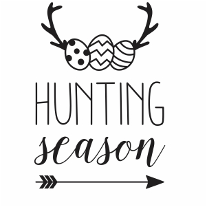 Egg Hunting Season SVG