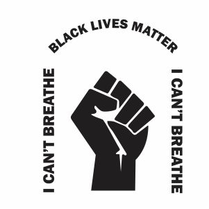 I Cant Breathe Black Lives Matter Vector