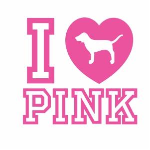 Download I Love Pink SVG | I Love Pink dog svg cut file Download ...