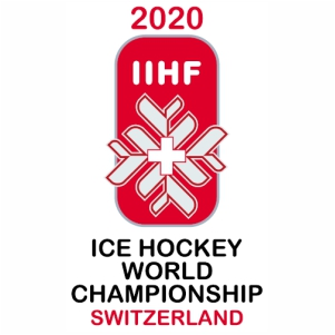 2020 IIHF World Championship vector image