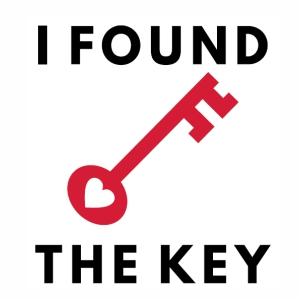 I Found The Key logo svg