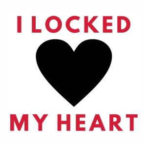 I Locked my heart vector file