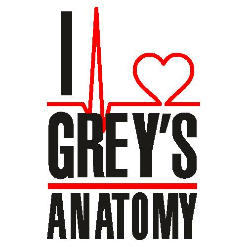 I Love Greys Anatomy Logo Svg