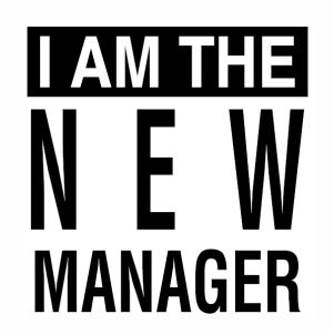 I am the New Manager svg