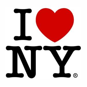 I love NY logo Vector