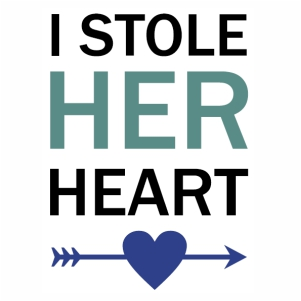 I Stole her heart svg