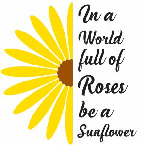 In A World Full Of Roses Clipart