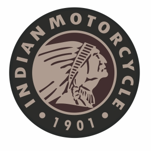 Indian Motorcycle circle logo vector file
