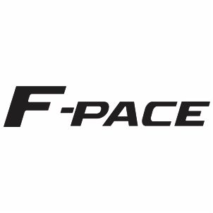 F Pace Logo Vector Download