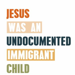 Jesus Was An Undocumented Svg
