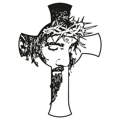 Jesus In Cross Svg