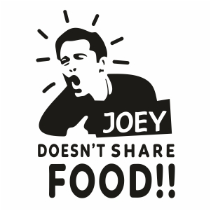 Joey Doesnt Share Food Clipart