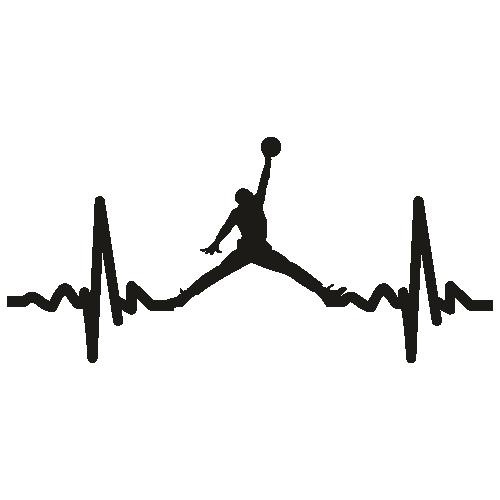 Jordan Heartbeat Svg