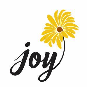 Joy Sunflower Svg