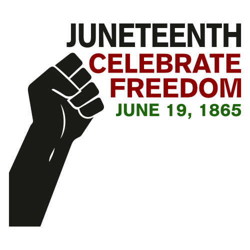 Juneteenth Celebrate Freedom Clipart