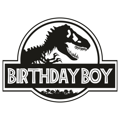 Jurasskicked Birthday Boy Svg