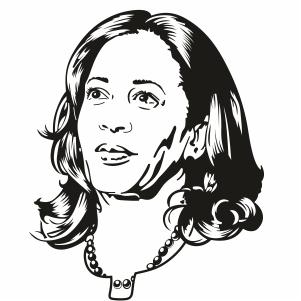 Kamala Harris Clipart