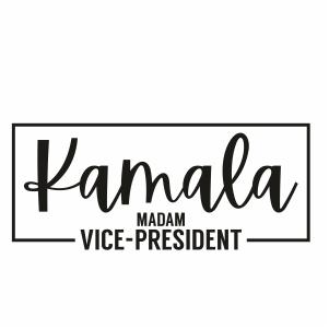 Kamala Madam Vice President Svg