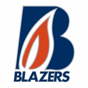 Vector Kamloops Blazers Logo