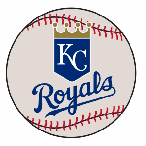 Kansas City Royal BaseBall Logo Vector