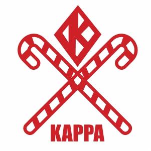 Kappa Alpha Psi Candy Cane Svg