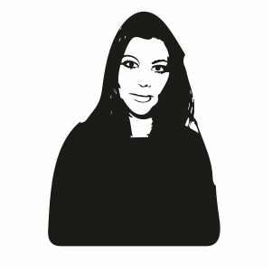 Kim Kardashian Svg For Silhouette