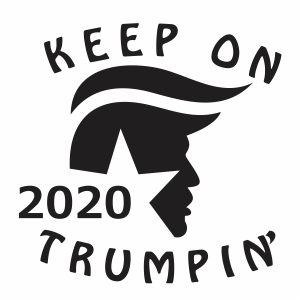 Keep On 2020 Trumpin Svg