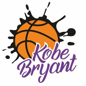Kobe Bryant Basketball Svg