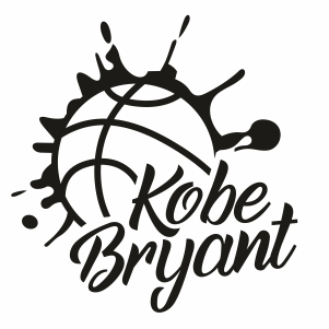 Kobe Bryant Basketball Clipart