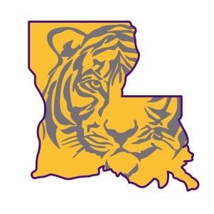Louisiana Tiger Football Logo Svg