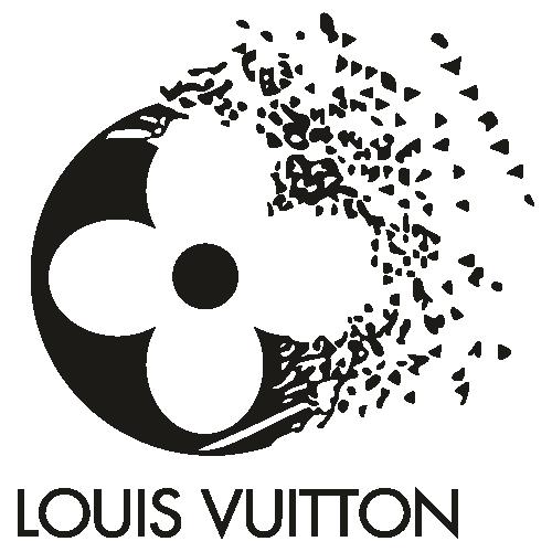 Louis Vuitton Logo Silhouette