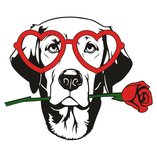 Labrador Head Svg