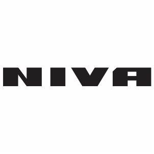 Lada Niva Logo Vector