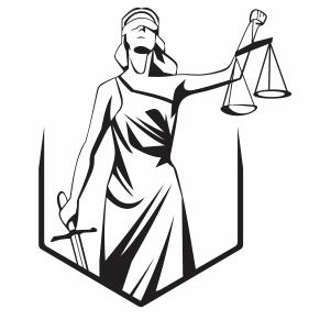 Justice Statue Svg
