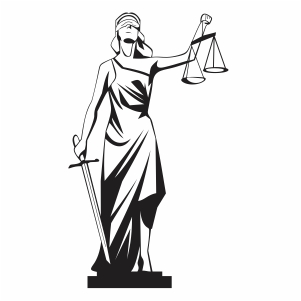 Lady Justice Themis Svg