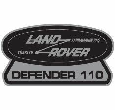 Land Rover Defender 110 Logo Svg
