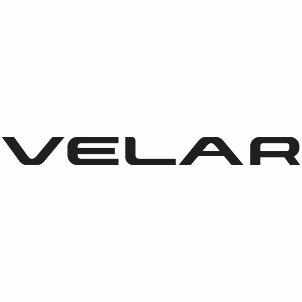 Land Rover Velar Logo Vector