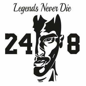 Legends Never Die Clipart