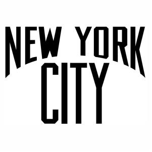 John Lennon New York City Logo svg