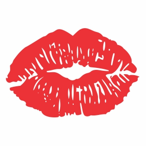 Download flying kiss lips Vector Download | red lips kiss Vector ...