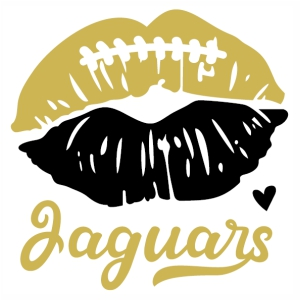 Jaguars Lips svg cut file