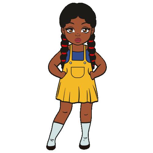 Black Girl Svg