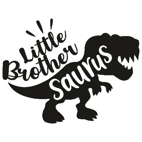Little Brother Saurus Svg