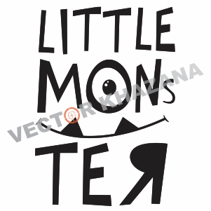 Free Little Mons Svg