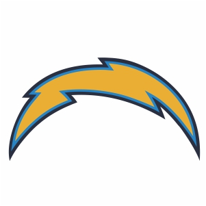 Los Angeles Chargers Logo Clipart