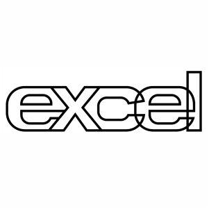 Lotus Excel Decal Logo svg