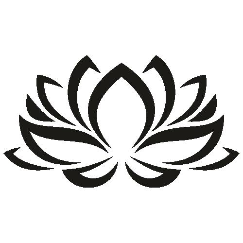 Lotus Flower Instant Download SVG