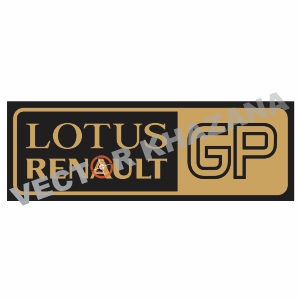 Lotus Renault GP Logo Svg