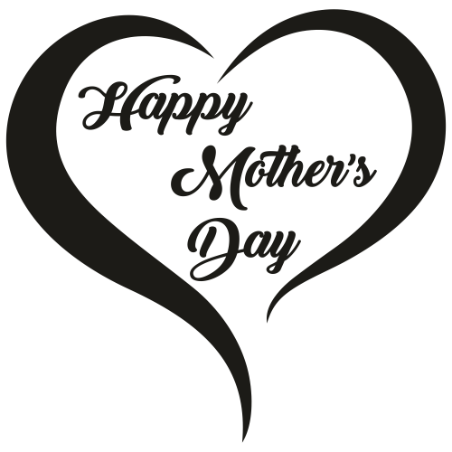 Love Happy Mothers day Svg